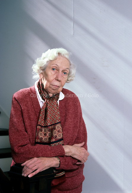 Eudora Welty at home in Jackson, Mississippi.