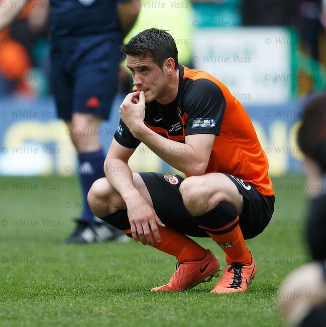 Dundee Utd dejection: Brian Graham dejection
