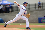 09 June 2012: Florida's Hudson Randall. The University of Florida Gators defeated the North Carolina State University Wolfpack 7-1 at Alfred A. McKethan Stadum in Gainesville, Florida in Game 1 of their NCAA College Baseball Super Regional series.