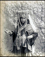 Old photograph album from North Africa.