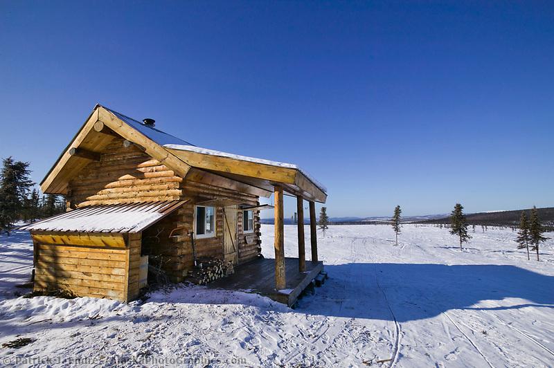 Moose Creek cabin, White Mountains National Recreation Area, interior, Alaska
