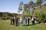 Patients in a rehabilitation program for heroin addiction operated by the NGO Rosa Vetrov do morning exercises in Kazan, Russia, on Wednesday, September 26, 2007. The dozen patients in the free three-month program take a weekly field trip to a nearby lake, where they learn play soccer, have group therapy sessions, and generally learn how to relax and have fun without using drugs.