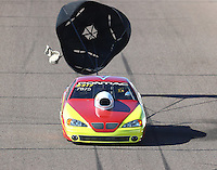 Feb 24, 2017; Chandler, AZ, USA; NHRA top sportsman driver Roy Cracraft during qualifying for the Arizona Nationals at Wild Horse Pass Motorsports Park. Mandatory Credit: Mark J. Rebilas-USA TODAY Sports