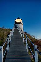 Owls Head Light, Maine,  USA