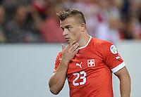 Fussball International  WM Qualifikation 2014   11.09.2012 Schweiz - Albanien Xherdan SHAQIRI (Schweiz)