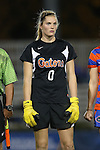 22 November 2013: Florida's Taylor Burke. The University of Florida Gators played the Duke University Blue Devils at Koskinen Stadium in Durham, NC in a 2013 NCAA Division I Women's Soccer Tournament Second Round match. Duke won the game 1-0.