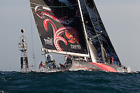UAE. 4th January 2012. Volvo Ocean Race, Leg 2, arrival into Abu Dhabi. Brad Marsh, Groupama Sailing Team.