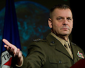 Vice Chairman of the Joint Chiefs of Staff United States Marine General James E. Cartwright speaks at the George C. Marshall Institute Meeting at the U.S. Chamber of Commerce in Washington, D.C., February 12, 2009. The general spoke to the crowd about space operations challenges facing the U.S.  Cartwright is a target of a Justice Department investigation into a leak of information about a covert U.S.-Israeli cyberattack on Iran&rsquo;s nuclear program.<br /> Mandatory Credit: Adam M. Stump / DoD via CNP