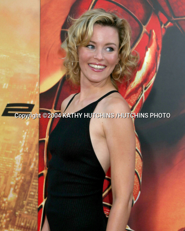 "©2004 KATHY HUTCHINS /HUTCHINS PHOTO.""SPIDERMAN 2"" PREMIERE.WESTWOOD, CA.JUNE 22, 2004..ELIZABETH BANKS"
