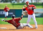 7 March 2011: Washington Nationals' infielder Alberto Gonzalez in action during a Spring Training game against the Houston Astros at Space Coast Stadium in Viera, Florida. The Nationals defeated the Astros 14-9 in Grapefruit League action. Mandatory Credit: Ed Wolfstein Photo