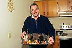 David With Opossum Dinner