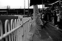 Pix:Michael Steele/SWpix...Rugby League...COPYRIGHT PICTURE>>SIMON WILKINSON..Generic fan, fan watching a rugby league game.