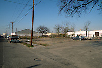 1992 January 23..Conservation.MidTown Industrial..PROPOSED TRT SITE.LOOKING NORTHWEST FROM 18TH STREET....NEG#.NRHA#..