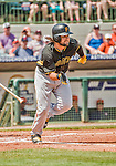 22 March 2015: Pittsburgh Pirates outfielder Jaff Decker in Spring Training action against the Houston Astros at Osceola County Stadium in Kissimmee, Florida. The Astros defeated the Pirates 14-2 in Grapefruit League play. Mandatory Credit: Ed Wolfstein Photo *** RAW (NEF) Image File Available ***