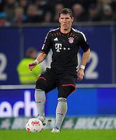 USSBALL   1. BUNDESLIGA    SAISON 2012/2013    10. Spieltag   Hamburger SV - FC Bayern Muenchen                    03.11.2012 Daniel Nagy (Hamburger SV) Einzelaktion am Ball