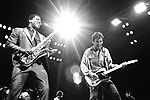 Clarence Clemons and Bruce Springsteen 1981.© Chris Walter.