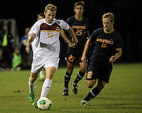 The Winthrop University Eagles lose 2-1 in a Big South contest against the Campbell University Camels.  Max Hasenstab (18), Justin Franz (12)