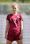 02 October 2011: Virginia Tech's Brittany Michels. The Duke University Blue Devils defeated the Virginia Tech Hokies 1-0 at Koskinen Stadium in Durham, North Carolina in an NCAA Division I Women's Soccer game.