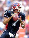 9 September 2007: Buffalo Bills quarterback J.P. Losman (7) in action against the Denver Broncos at Ralph Wilson Stadium in Buffalo, NY. The Broncos defeated the Bills 15-14 in the opening day matchup...Mandatory Photo Credit: Ed Wolfstein Photo