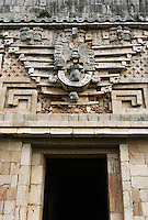 Lord Chaac, Governor of Uxmal, Governor?s Palace, Puuc architecture, Uxmal late classical Mayan site, 900-1000 AD, Yucatan, Mexico Picture by Manuel Cohen