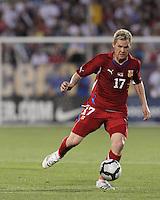 Czech Republic midfielder Tomas Hubschman
