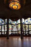 Noble floor of the House of Batllo, Barcelona, Spain