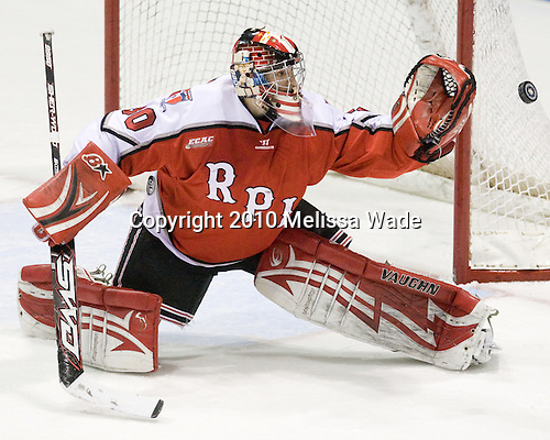 Allen York (RPI - 30) - The Rensselaer Polytechnic Institute (RPI) Engineers defeated the Yale University Bulldogs 4-0 on Saturday, January 30, 2010, at Ingalls Rink in New Haven, Connecticut.