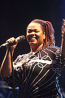 Jill Scott live @ Martin Luther King Music Series at Wingate Field on August 11, 2008