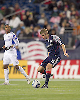 New England Revolution midfielder Jason Griffiths (16) passes the ball. The New England Revolution defeated Kansas City Wizards, 1-0, at Gillette Stadium on October 16, 2010.