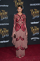 Chrissy Teigen at the premiere for Disney's &quot;Beauty and the Beast&quot; at El Capitan Theatre, Hollywood. Los Angeles, USA 02 March  2017<br /> Picture: Paul Smith/Featureflash/SilverHub 0208 004 5359 sales@silverhubmedia.com
