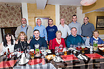 Former Work Colleague Reunion enjoying a night out at the Brogue Inn on Saturday Pictured Front L-r Rose Egan, Alice Lavery, William Kirby, Kay Dineen, Patsy O'Shea, Joan Murphy Back L-r Mike O'Shea, Paudie Murphy, John Roche, Tommy Moriarty, Declan Cotter and Stephan Lavery