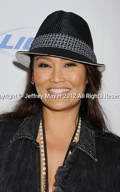 LOS ANGELES, CA - MARCH 07: Tia Carrere arrives to the 'Jeff, Who Lives At Home' Los Angeles Premiere at DGA Theater on March 7, 2012 in Los Angeles, California.