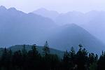 San Juan Mountains in summer rainstorm, Colorado
