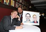 Penn & Teller Caricature unveiling