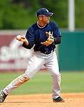16 March 2007: New York Yankees infielder Miguel Cairo in action against the Houston Astros at Osceola County Stadium in Kissimmee, Florida...Mandatory Photo Credit: Ed Wolfstein Photo