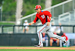 28 February 2011: Washington Nationals' outfielder Bryce Harper on the base-path as a pinch runner during a Spring Training game against the New York Mets at Digital Domain Park in Port St. Lucie, Florida. The Nationals defeated the Mets 9-3 in Grapefruit League action. Mandatory Credit: Ed Wolfstein Photo