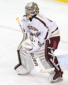 Parker Milner (BC - 35) - The Boston College Eagles defeated the visiting Dartmouth College Big Green 6-3 (EN) on Saturday, November 24, 2012, at Kelley Rink in Conte Forum in Chestnut Hill, Massachusetts.