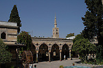 Azem Palace Damascus.<br /> <br /> The palace, in the old city of Damascus, was built in 1750 as a residence of As'ad Pasha al-Azm, the Ottoman governor of the city. The palace now houses the Museum of Arts and Popular Traditions.