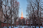 The Old North Church on the Prado in the North End of Boston, Massachusetts, USA