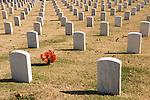 Chattanooga National Veterans Cemetery, autumn, Tenn.