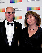 United States Representative Greg Walden (Republican of Oregon) and his wife, Mylene, arrive for the formal Artist's Dinner honoring the recipients of the 39th Annual Kennedy Center Honors hosted by United States Secretary of State John F. Kerry at the U.S. Department of State in Washington, D.C. on Saturday, December 3, 2016. The 2016 honorees are: Argentine pianist Martha Argerich; rock band the Eagles; screen and stage actor Al Pacino; gospel and blues singer Mavis Staples; and musician James Taylor.<br /> Credit: Ron Sachs / Pool via CNP