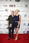 Richard and LD Attend Edwing D'Angelo Spring Summber 2014 Presentation Held at Studio 450, NY