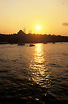 The Golden Horn in Istanbul, Turkey