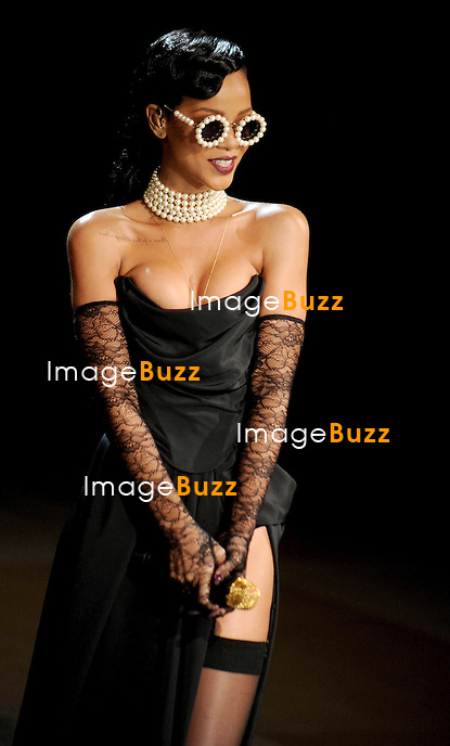 Rihanna at the 2012 Victoria's Secret Fashion Show in New York City..November 7, 2012.