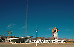 A famous landmark along old Route 66 in tiny Amboy, CA, Roy's Motel and Cafe has long been an outpost amongst the vast expanse of the Mojave Desert.