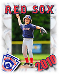 22 May 2010: Portrait and Team Photos of the Burlington American Little League Red Sox Minors at Calahan Park in Burlington, Vermont. Mandatory Credit: Ed Wolfstein Photo