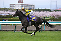 Soul Stirring ( Christophe Lemaire),<br /> APRIL 9, 2017 - Horse Racing :<br /> Soul Stirring ridden by Christophe Lemaire before the Oka Sho (Japanese 1000 Guineas) at Hanshin Racecourse in Hyogo, Japan. (Photo by Eiichi Yamane/AFLO)