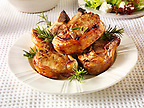 Stock photos of BBQ lamb with rosemary. Funky Stock library images of bbq food.
