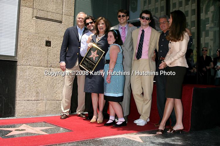 Susan Saint James and family