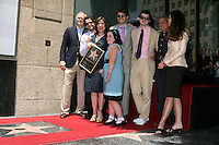 Susan Saint James, her husband & Sons, Family, Ron Meyer, and Maria Shriver.Susan Saint James receives a Star on the Hollywood Walk of Fame. Los Angeles, CA.June 11, 2008.©2008 Kathy Hutchins / Hutchins Photo .